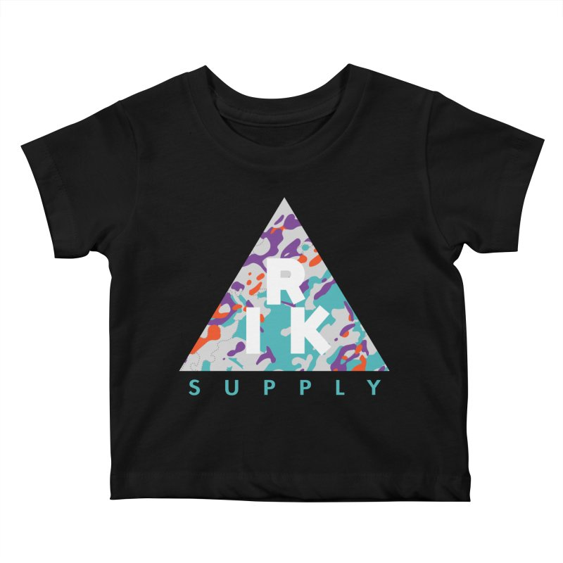 RIK.Supply (Spring Flecktarn) Kids Baby T-Shirt by RIK.Supply