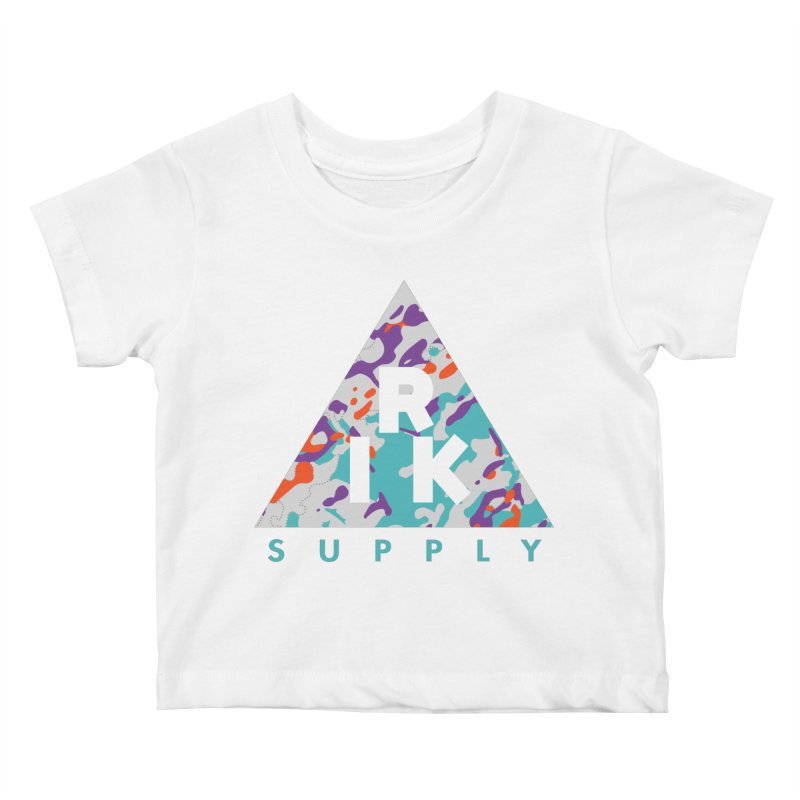 RIK.Supply (Spring Flecktarn) Kids Baby T-Shirt by RIK.Supply
