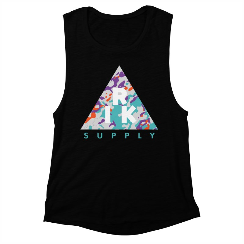 RIK.Supply (Spring Flecktarn) Women's Muscle Tank by RIK.Supply