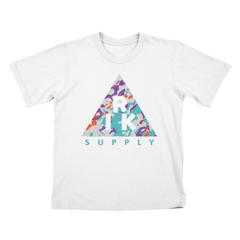 RIK.Supply (Spring Flecktarn) Kids T-Shirt by RIK.Supply