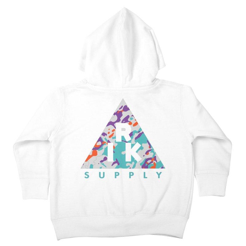 RIK.Supply (Spring Flecktarn) Kids Toddler Zip-Up Hoody by RIK.Supply
