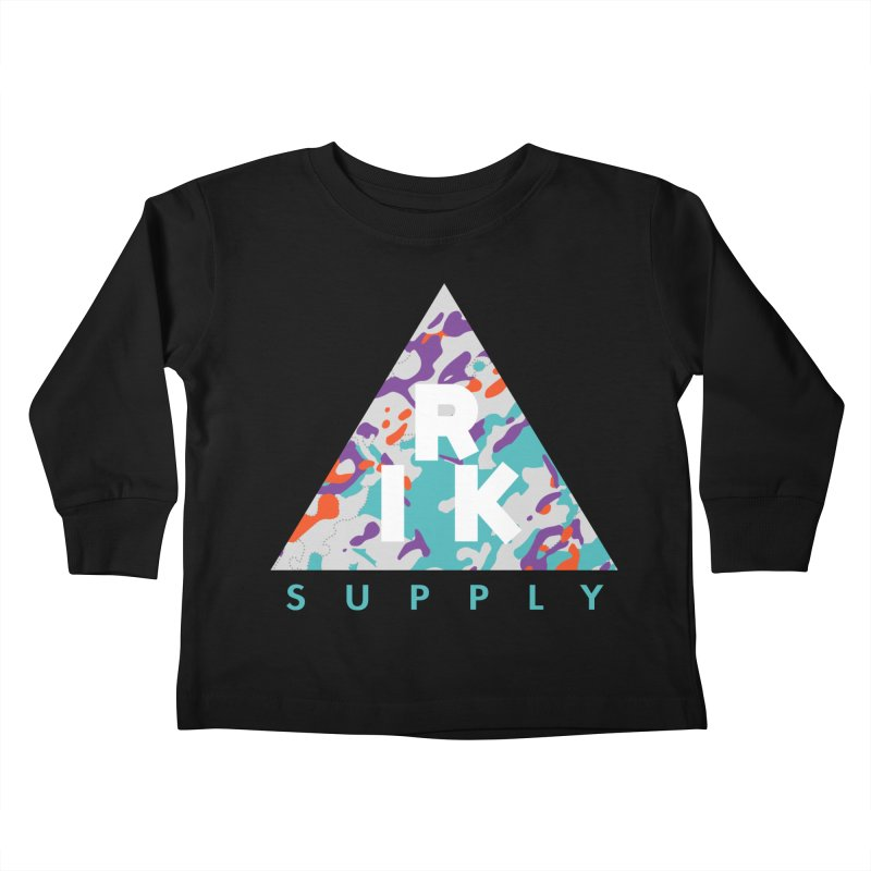 RIK.Supply (Spring Flecktarn) Kids Toddler Longsleeve T-Shirt by RIK.Supply