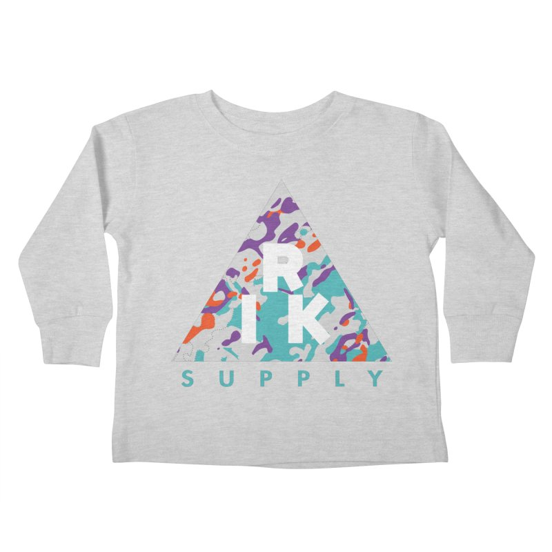 RIK.Supply (Spring Flecktarn) Kids Toddler Longsleeve T-Shirt by RIK.Supply