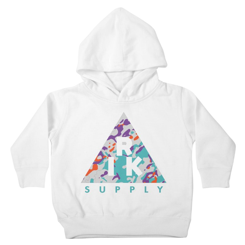 RIK.Supply (Spring Flecktarn) Kids Toddler Pullover Hoody by RIK.Supply