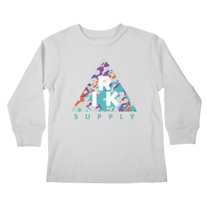 RIK.Supply (Spring Flecktarn) Kids Longsleeve T-Shirt by RIK.Supply