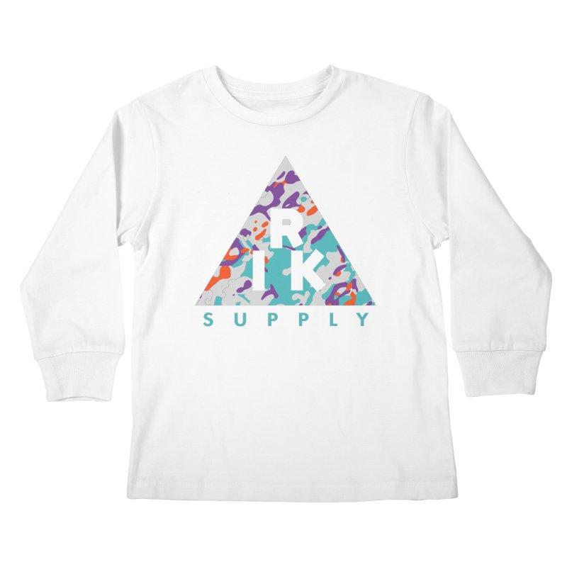 RIK.Supply (Spring Flecktarn) Kids Longsleeve T-Shirt by RIK.Supply
