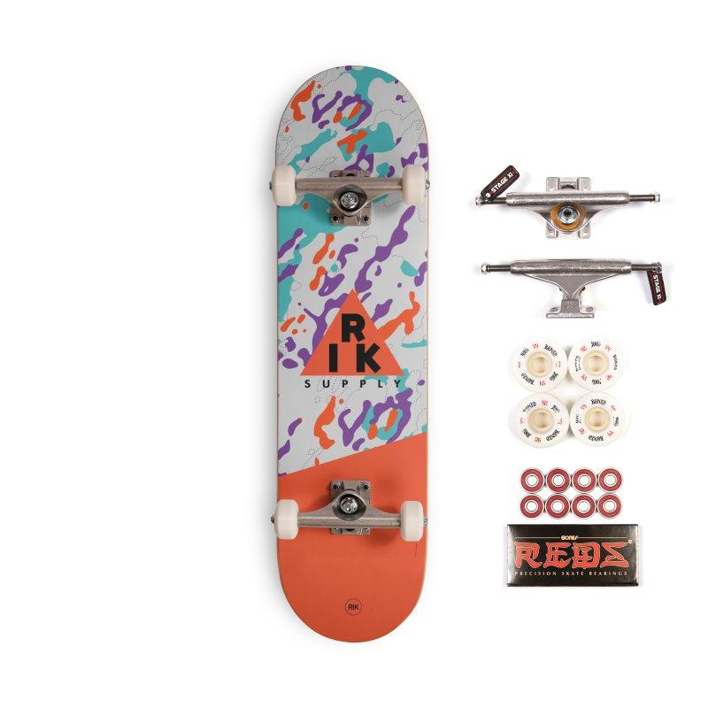 RIK.Supply (Spring Flecktarn) Accessories Complete - Pro Skateboard by RIK.Supply