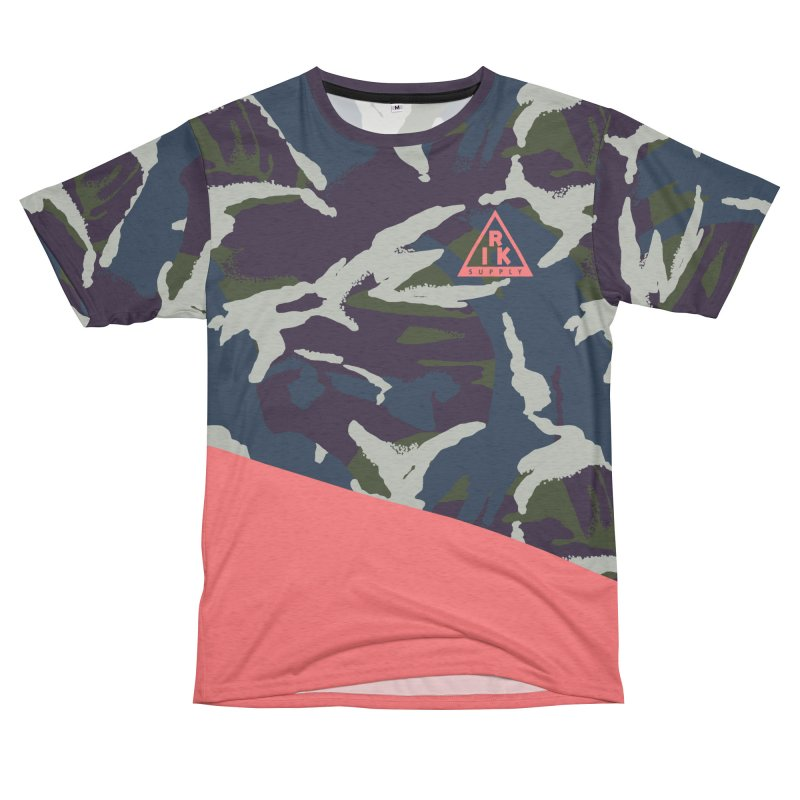 RIK.Supply (French DPM) Men's French Terry T-Shirt Cut & Sew by RIK.Supply