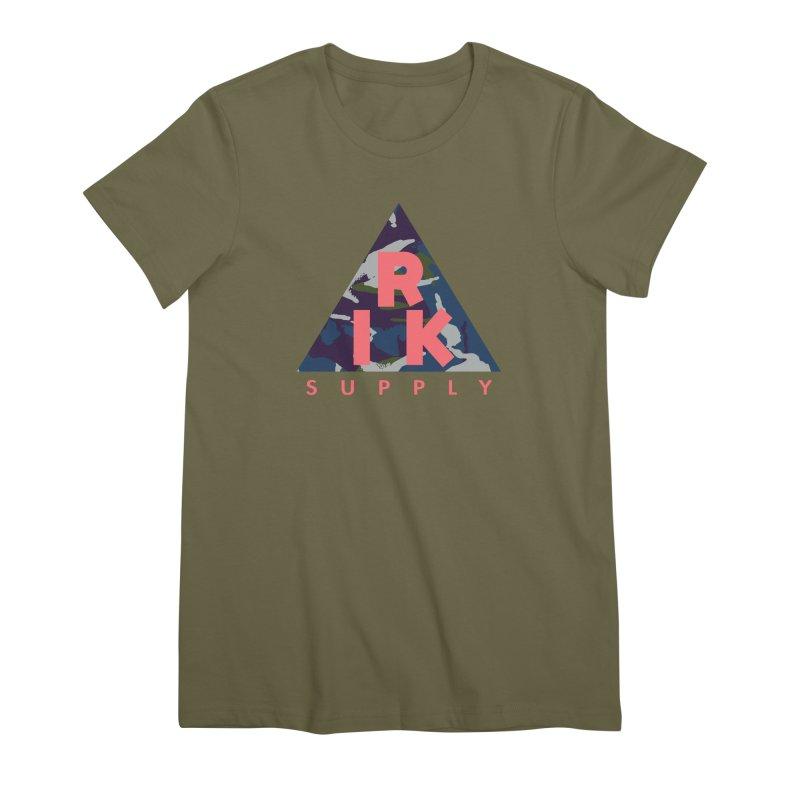 RIK.Supply (French DPM) Women's Premium T-Shirt by RIK.Supply