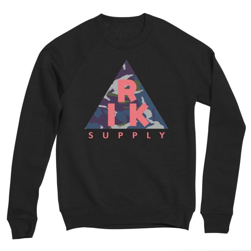 RIK.Supply (French DPM) Men's Sponge Fleece Sweatshirt by RIK.Supply
