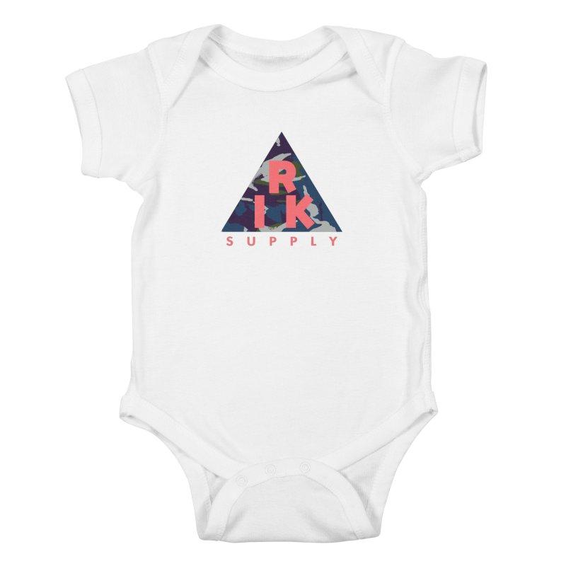 RIK.Supply (French DPM) Kids Baby Bodysuit by RIK.Supply