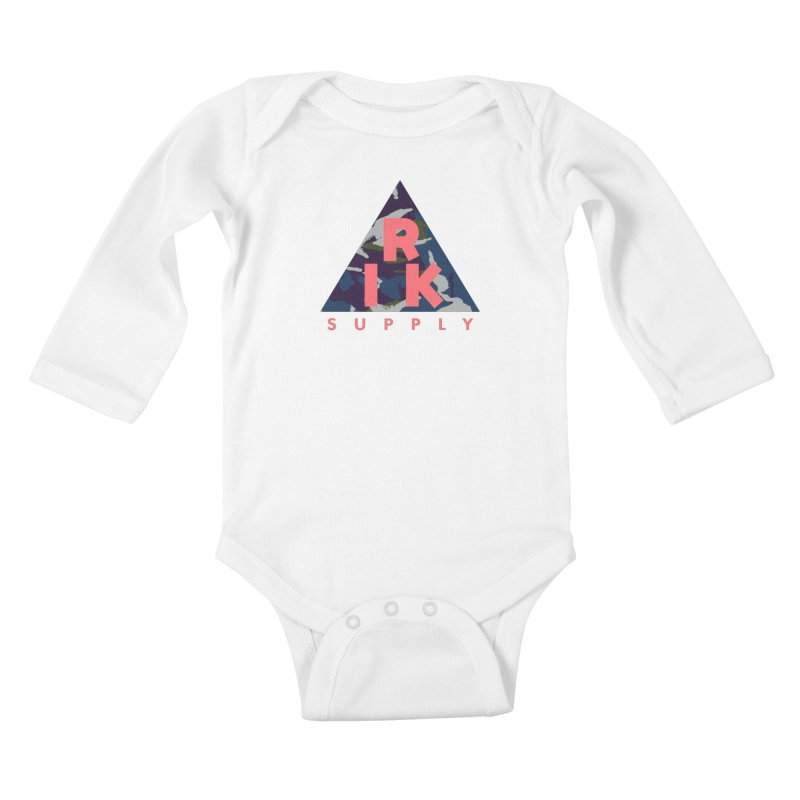 RIK.Supply (French DPM) Kids Baby Longsleeve Bodysuit by RIK.Supply