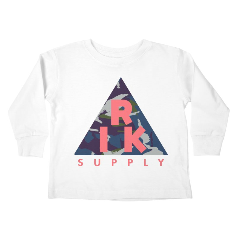 RIK.Supply (French DPM) Kids Toddler Longsleeve T-Shirt by RIK.Supply