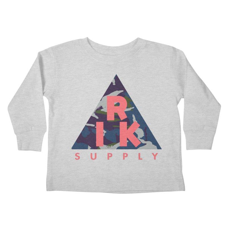 RIK.Supply (French DPM) Kids Toddler Longsleeve T-Shirt by RIK.Supply