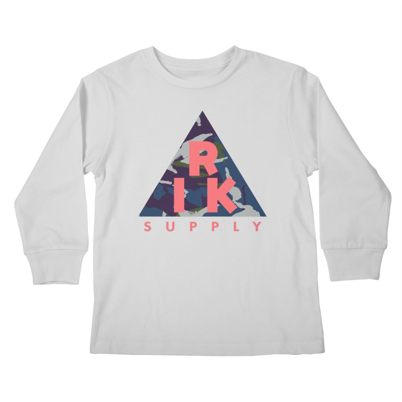 RIK.Supply (French DPM) Kids Longsleeve T-Shirt by RIK.Supply