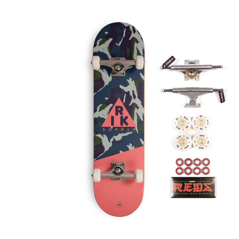 RIK.Supply (French DPM) Accessories Complete - Pro Skateboard by RIK.Supply