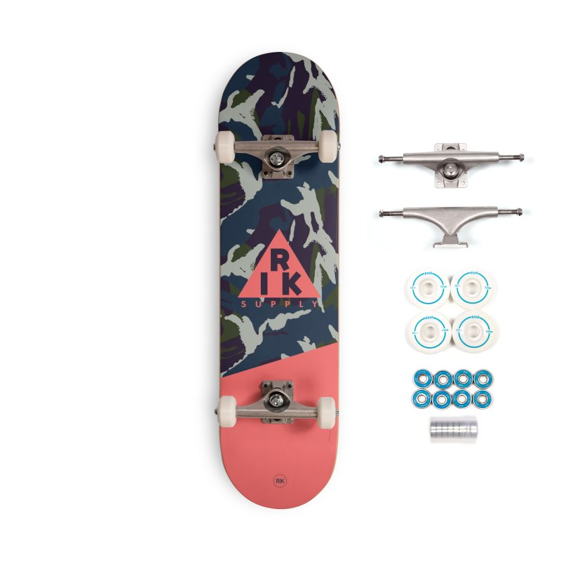 RIK.Supply (French DPM) Accessories Complete - Basic Skateboard by RIK.Supply