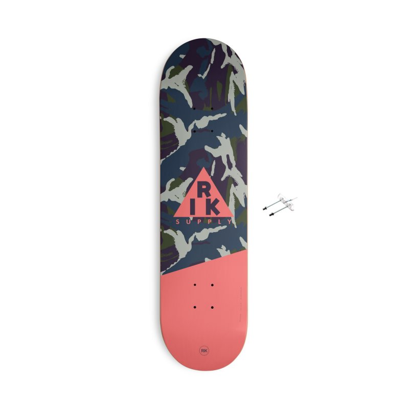 RIK.Supply (French DPM) Accessories With Hanging Hardware Skateboard by RIK.Supply