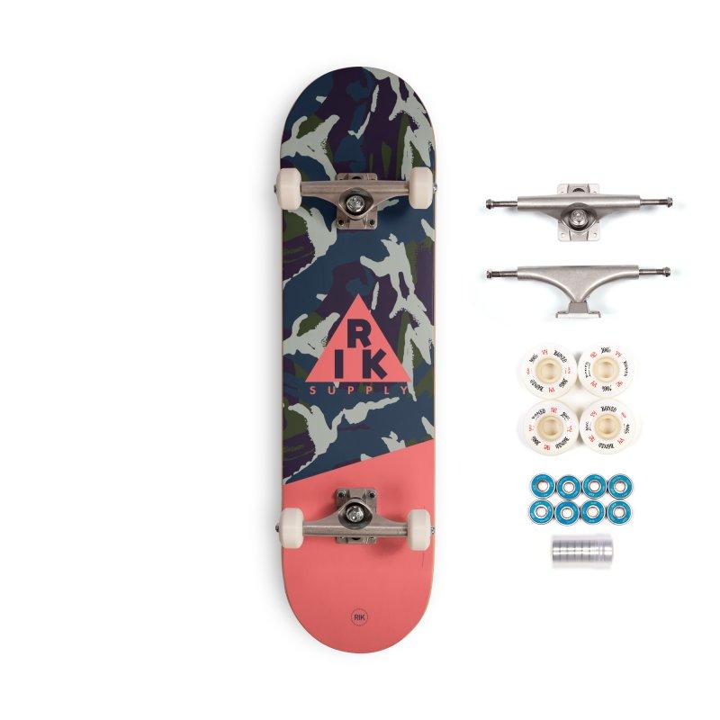 RIK.Supply (French DPM) Accessories Complete - Premium Skateboard by RIK.Supply