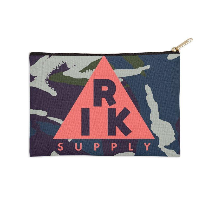 RIK.Supply (French DPM) Accessories Zip Pouch by RIK.Supply