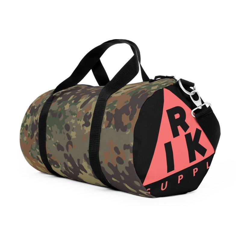 RIK.Supply (Flecktarn) Accessories Duffel Bag Bag by RIK.Supply