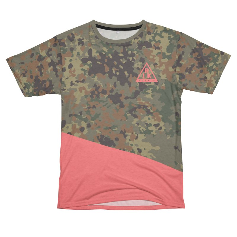 RIK.Supply (Flecktarn) Women's Unisex French Terry T-Shirt Cut & Sew by RIK.Supply