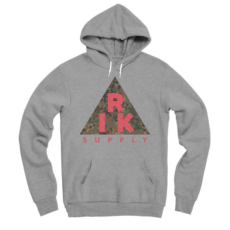 RIK.Supply (Flecktarn) Men's Sponge Fleece Pullover Hoody by RIK.Supply