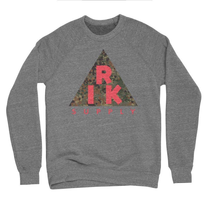 RIK.Supply (Flecktarn) Men's Sponge Fleece Sweatshirt by RIK.Supply