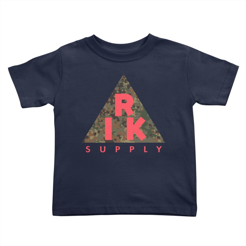 RIK.Supply (Flecktarn) Kids Toddler T-Shirt by RIK.Supply