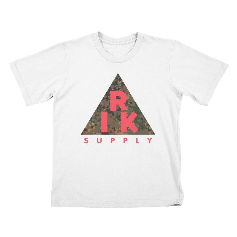 RIK.Supply (Flecktarn) Kids T-Shirt by RIK.Supply