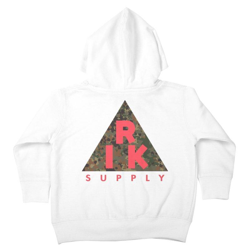 RIK.Supply (Flecktarn) Kids Toddler Zip-Up Hoody by RIK.Supply