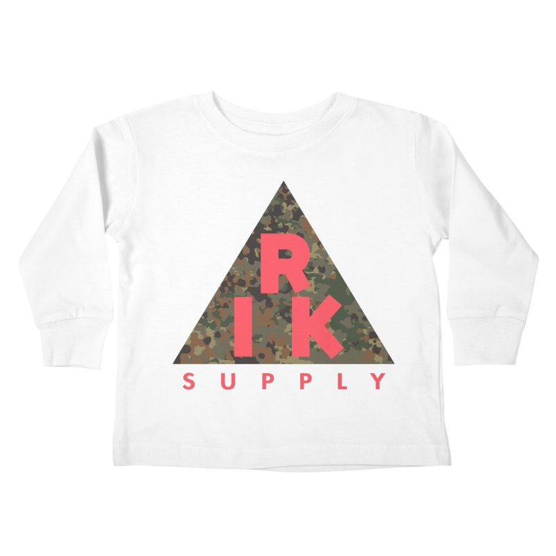 RIK.Supply (Flecktarn) Kids Toddler Longsleeve T-Shirt by RIK.Supply