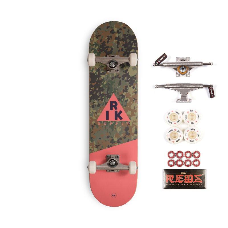RIK.Supply (Flecktarn) Accessories Complete - Pro Skateboard by RIK.Supply