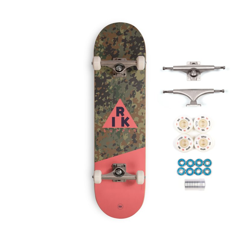RIK.Supply (Flecktarn) Accessories Complete - Premium Skateboard by RIK.Supply