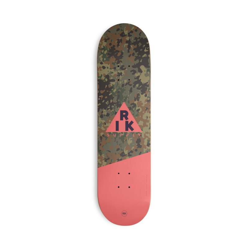RIK.Supply (Flecktarn) in Deck Only Skateboard by RIK.Supply