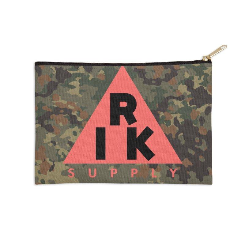 RIK.Supply (Flecktarn) Accessories Zip Pouch by RIK.Supply