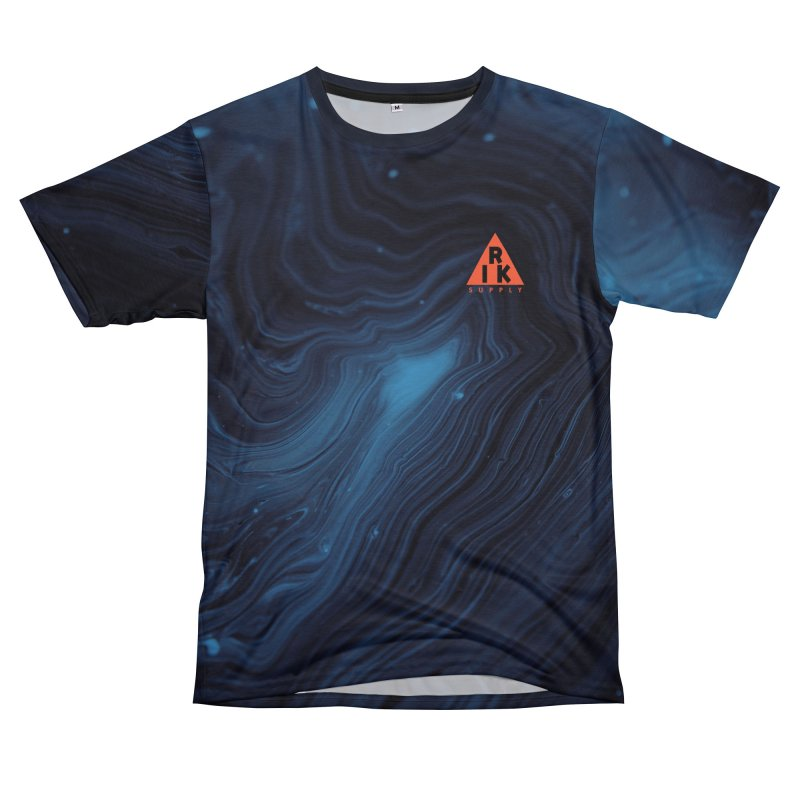 RIK.Supply (Blue Wave) Men's T-Shirt Cut & Sew by RIK.Supply