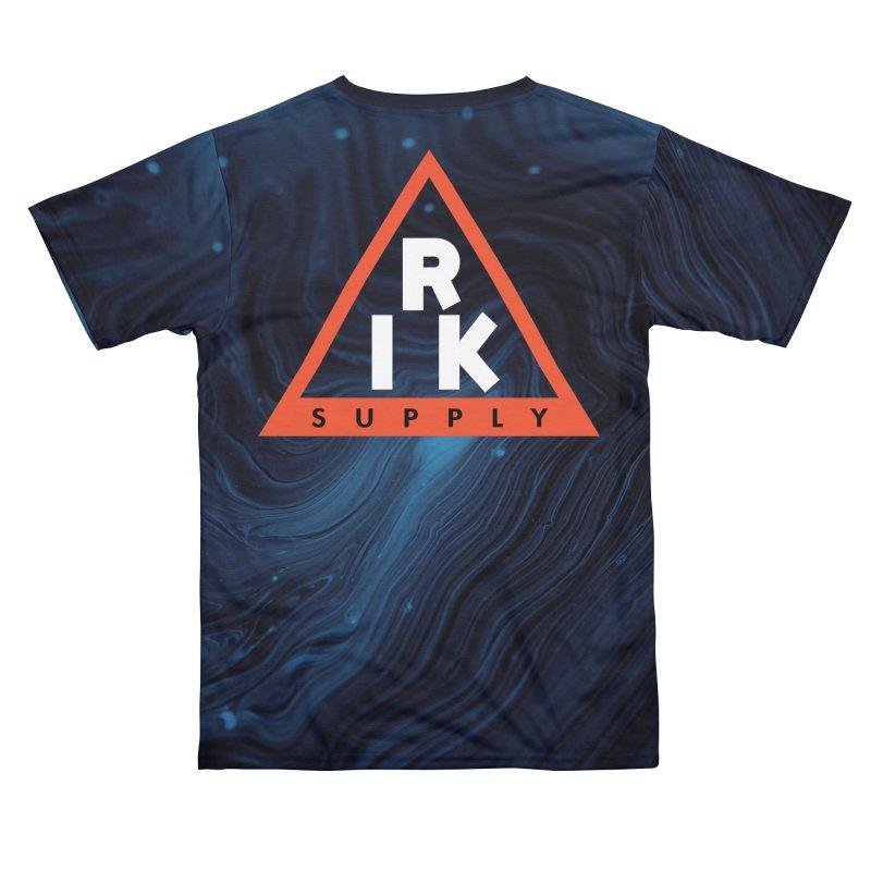 RIK.Supply (Blue Wave) Men's Cut & Sew by RIK.Supply