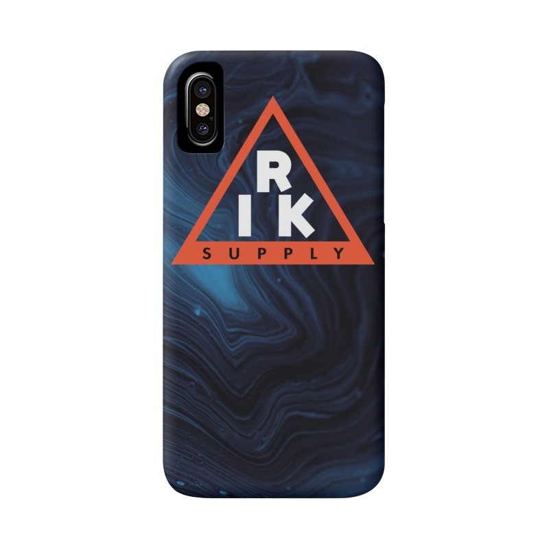 RIK.Supply (Blue Wave) Accessories Phone Case by RIK.Supply