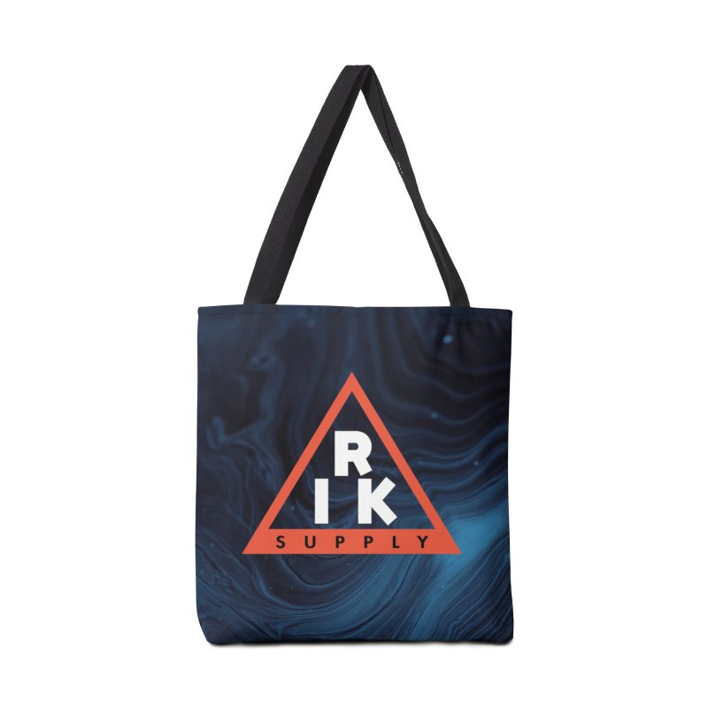 RIK.Supply (Blue Wave) Accessories Tote Bag Bag by RIK.Supply