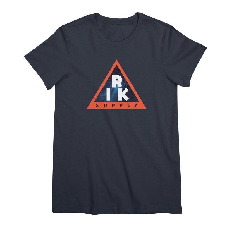 RIK.Supply (Blue Wave) Women's Premium T-Shirt by RIK.Supply