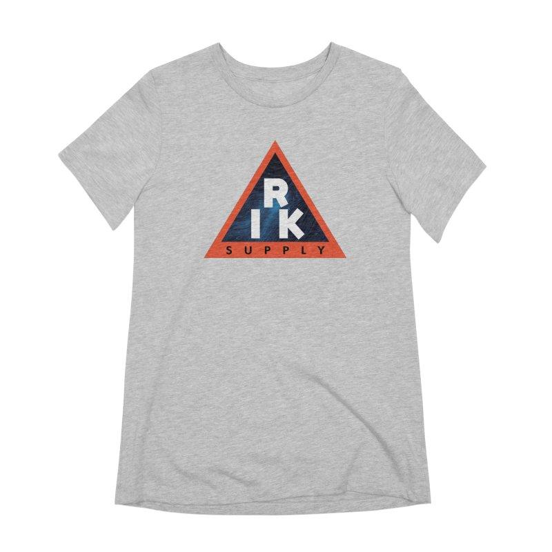 RIK.Supply (Blue Wave) Women's Extra Soft T-Shirt by RIK.Supply