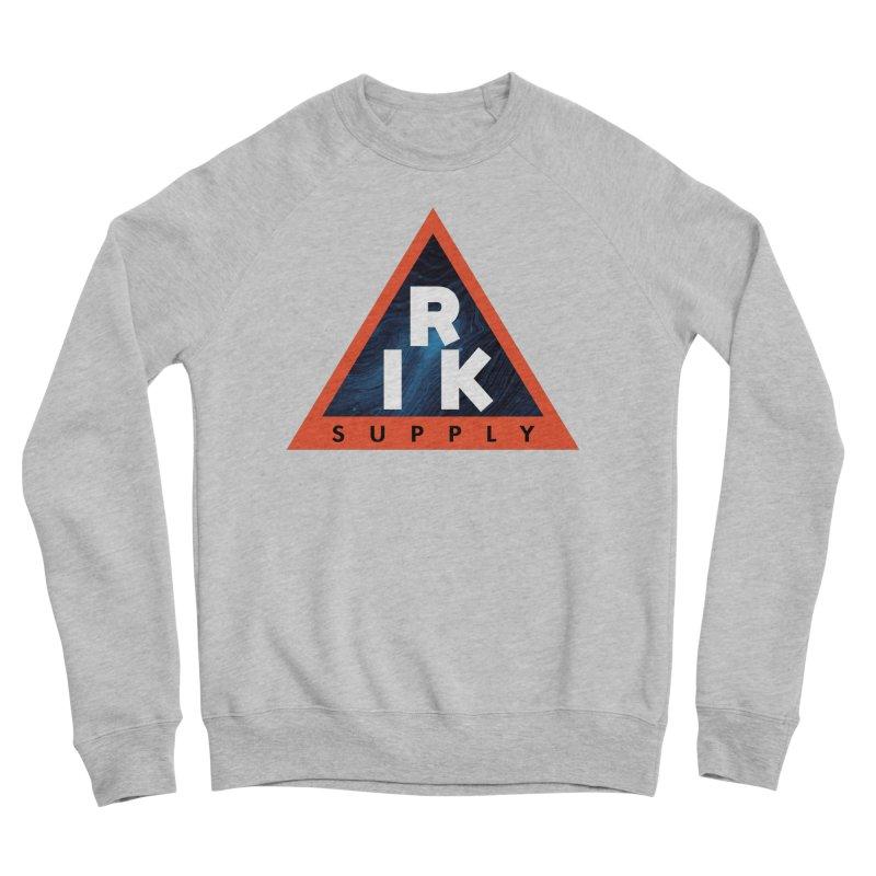 RIK.Supply (Blue Wave) Women's Sponge Fleece Sweatshirt by RIK.Supply