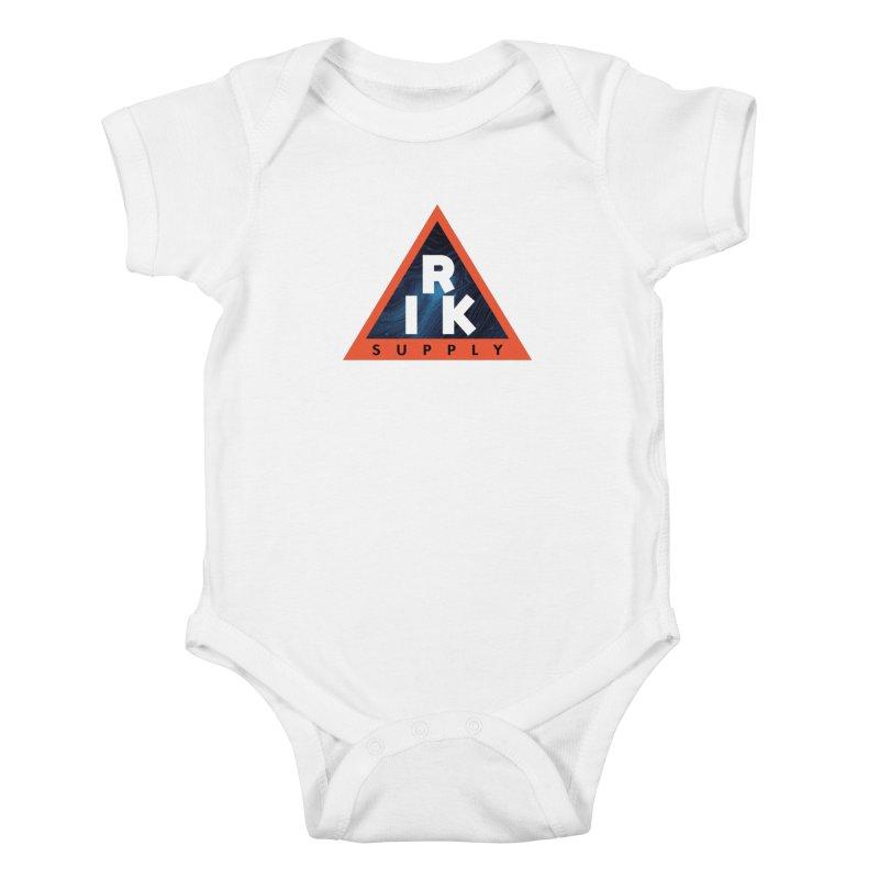 RIK.Supply (Blue Wave) Kids Baby Bodysuit by RIK.Supply