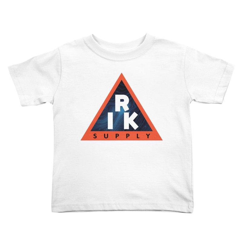 RIK.Supply (Blue Wave) Kids Toddler T-Shirt by RIK.Supply