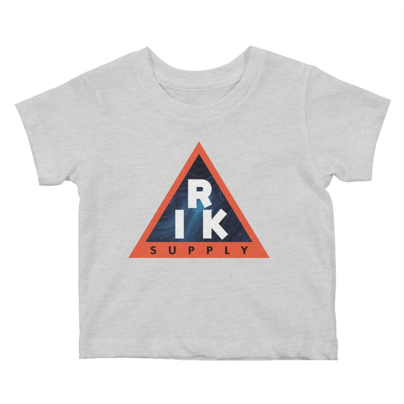 RIK.Supply (Blue Wave) Kids Baby T-Shirt by RIK.Supply