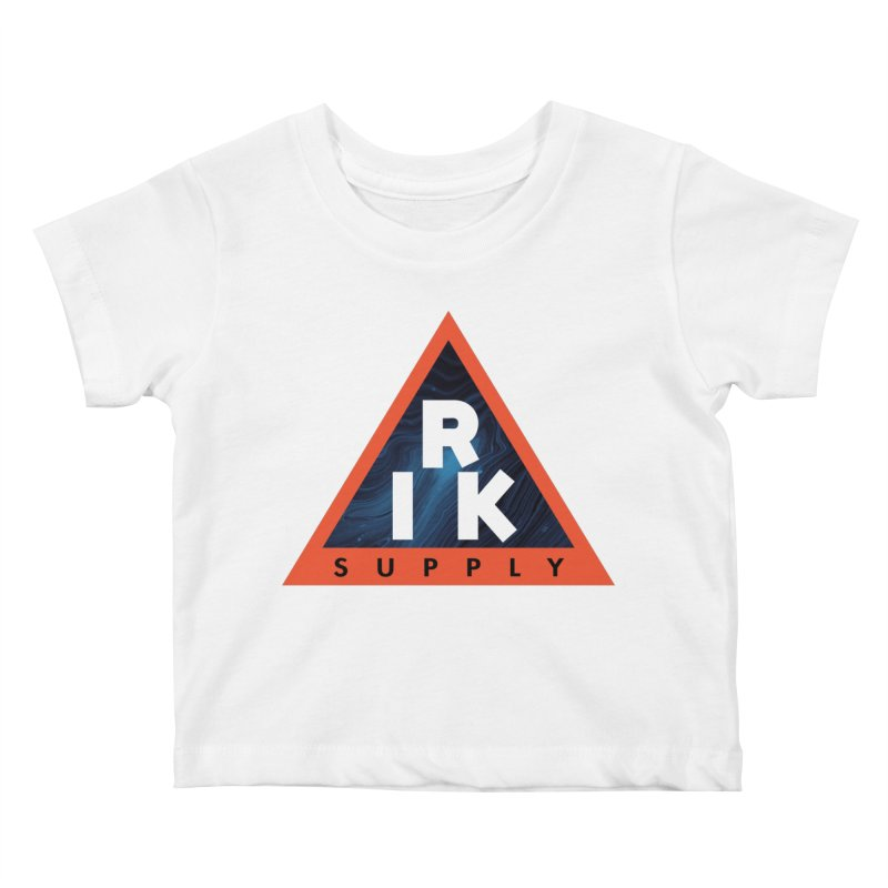 RIK.Supply (Blue Wave) Kids Baby T-Shirt by RIK.Supply