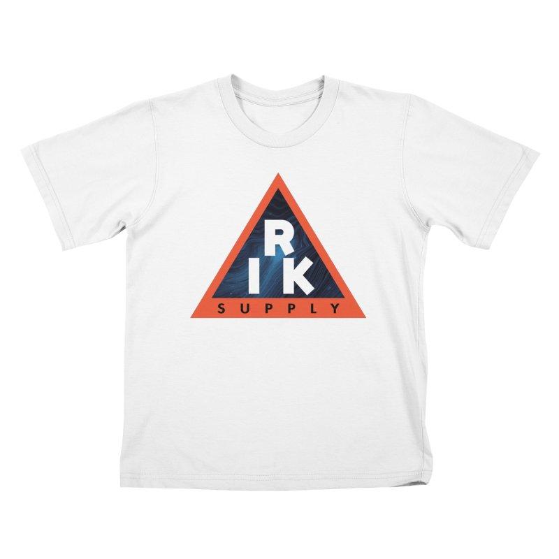 RIK.Supply (Blue Wave) Kids T-Shirt by RIK.Supply