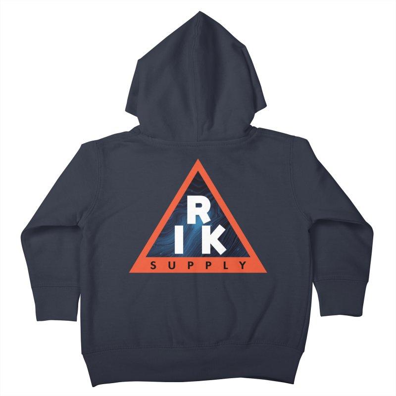 RIK.Supply (Blue Wave) Kids Toddler Zip-Up Hoody by RIK.Supply