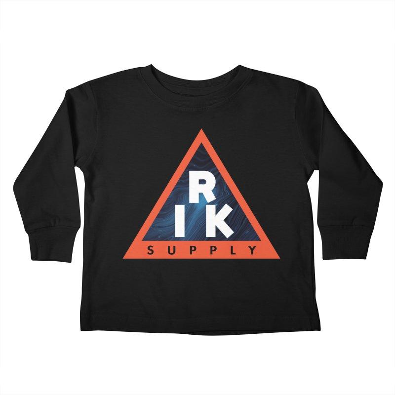 RIK.Supply (Blue Wave) Kids Toddler Longsleeve T-Shirt by RIK.Supply